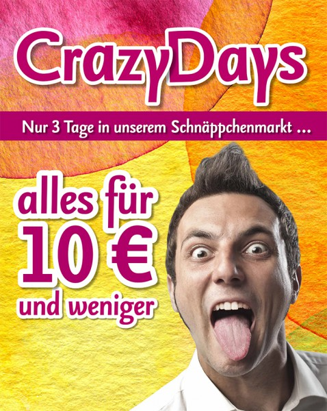 Bantel CrazyDays – alles für 10 EUR