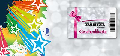 Bantel Geschenkkarten Motiv 9 Stermne