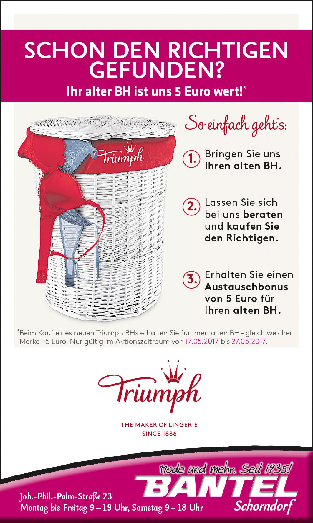 Bantel BH-Tausch Triumph