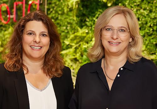 Christina Bantel-Wild und Claudia Maurer-Bantel